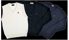 ベスト&カーディガン&セーターの画像